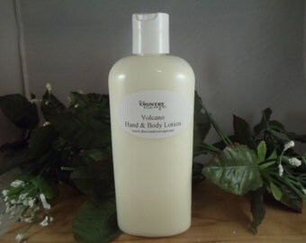Volcano Scented Hand and Body Lotion- Rich and Creamy -Super Moisurizing & Jojoba Oil and Shea Butter - Intense Dry Skin Therapy
