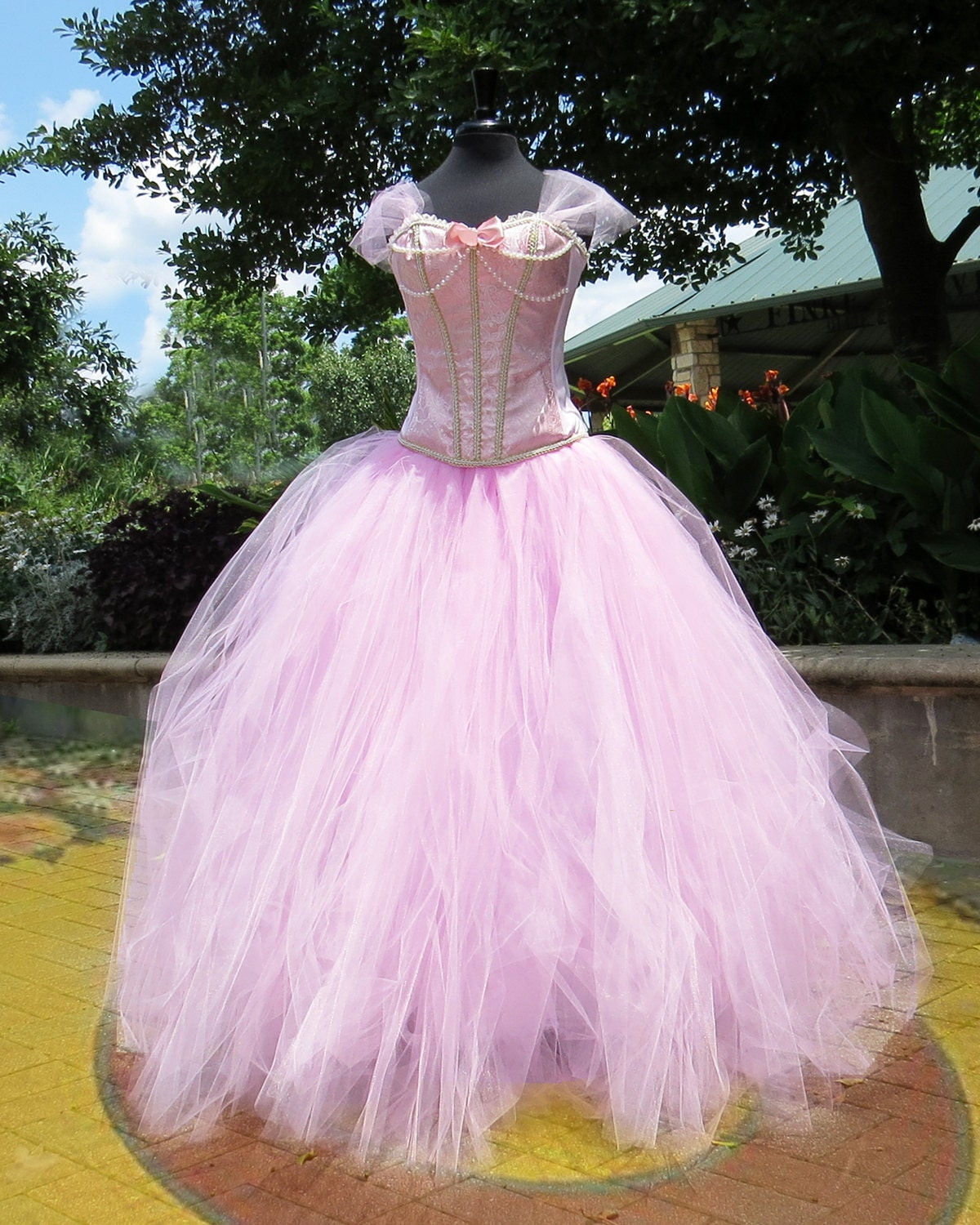 Adult Glinda the Good Witch Costume Skirt Tulle skirt for