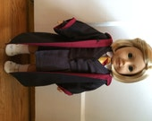 Reserved for Carrie Caillouette! Custom American Girl Doll Griffindor Set!