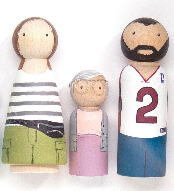 Modern Homes Peg: Peg Doll Portrait