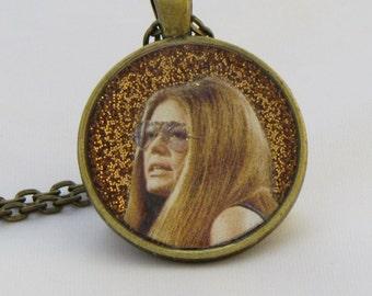 Gloria Steinem, Goddess Pendant