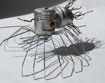 Spider - Found Object Robot