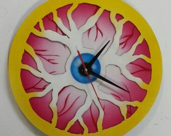 In the Wink of an Eye-   Eyeball Clock