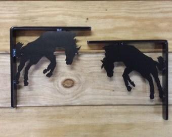 Horse Shelf brackets