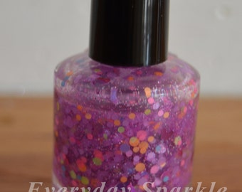 Mousing Around ~ Indie Handmade Nail Polish ~ 5 Free, Custom Blended Glitter Polish