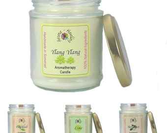 Natural Fragranced Candles | Scented Jar candles | The Best Aromatherapy Candles | Woodwick Jar Candle