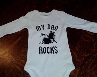 My Dad Rocks Drummer