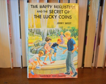First Edition The Happy Hollisters and the Secret of the Lucky Coins
