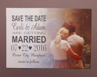 Photo Save the Date Cards, featuring your photograph