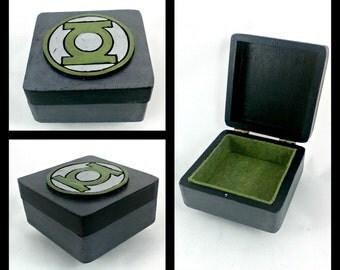 Green Lantern Stash Box