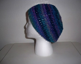 Multi-Color Slouchy Hat