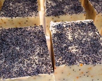 Lemon Poppy Seed Soap Bar