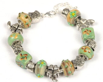 Irish Heritage, St. Patrick's Day, Irish Jewelry, Blarney Stone Bracelet