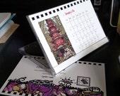 """2016 Desktop Calendar in Jewel Case 4"""" x 6"""""""