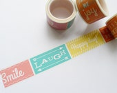 Quoted Bright Side Washi Tape