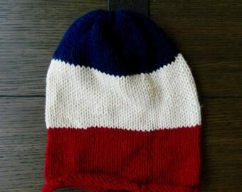 Knit Striped Beanie