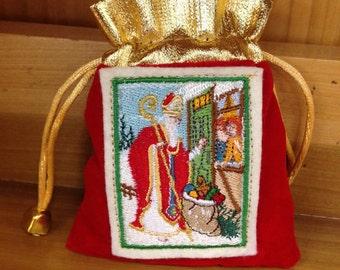 Patron Saint Nicholas Gift Bag