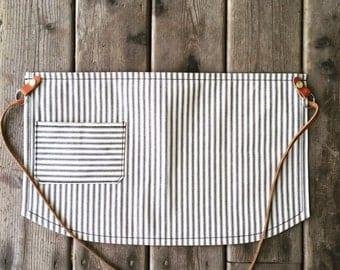 Half apron/ Striped apron/ barista apron/ bartending apron/ painters apron