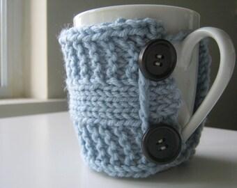 Teacher gift Coffee mug cozy tea cozy mug spring boho gift teacher gift knit cup warmer knit mug cozies knit coffee sleeve gifts under 20
