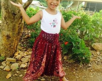Kid Harem Aladdin Genie pants or Jumpsuit XL for Kid age 4-5 yrs.