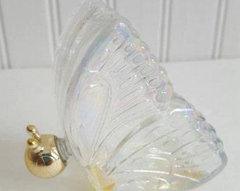 Avon vintage perfume bottle butterfly bottle glass butterfly  decanter cologne butterfly decoration avon perfume empty perfume bottle