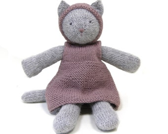 Hand Knitted Cat