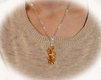 Drops of Sunshine Necklace