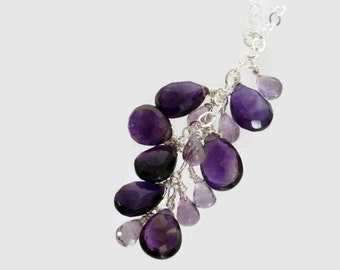 Loretta's Amethyst Necklace