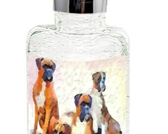 Boxer Quartet - Glass Soap/lotion Dispenser By Doggylips