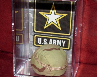 U.S Army display For Him or Her..We combine Shipping
