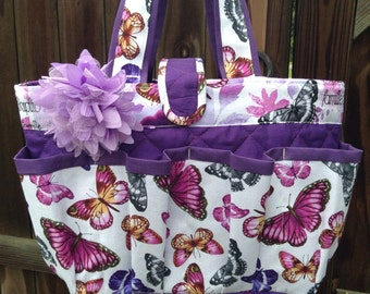 Butterflies Bingo Bag