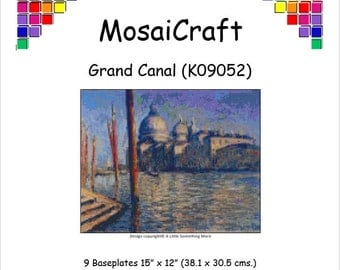 MosaiCraft Pixel Craft Mosaic Art Kit 'Grand Canal' (Like Mini Mosaic and Paint by Numbers)