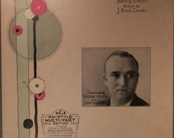 """1930 Sheet Music, """"I Still Get A Thrill"""""""