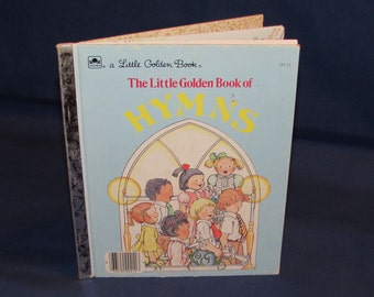 "The LITTLE GOLDEN BOOK of Hymns 1985 ""E"" Edition"