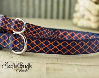 Auburn Tigers dog collar - War Eagle