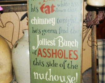 Griswald Family Christmas Primitive Sign