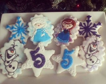 Frozen Birthday Cookies