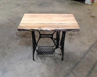 Refurbished Singer Sewing Table