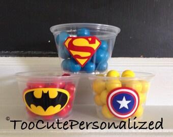 25 Batman Snack Cups-4 oz.