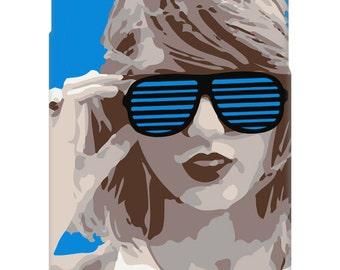 Custom Phone Case - Swift Shutter Shades - iPhone 4, 5, 6 - Galaxy S3, S4, S5