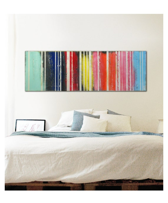 wall decor acrylic painting colors on colors short by. Black Bedroom Furniture Sets. Home Design Ideas