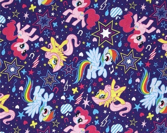 My Little Pony Custom Made Fitted Crib Sheets