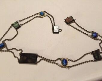 Vintage Chain Mosaic Belt