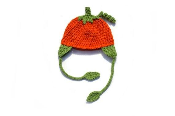 Baby Crochet Hat, Fall Baby Hat, Knit Pumpkin Hat, Crochet Pumpkin, Fall Knit Hat, Toddler Hat, Girls Crochet, Boys Crochet, Pumpkin Beanie