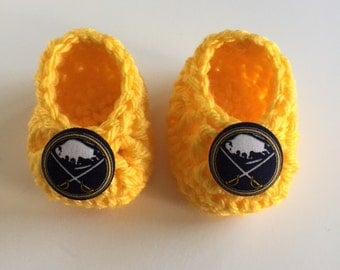 Buffalo Sabres baby booties