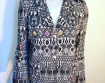 Ethnic Tribal Blanket Jacket/SALE