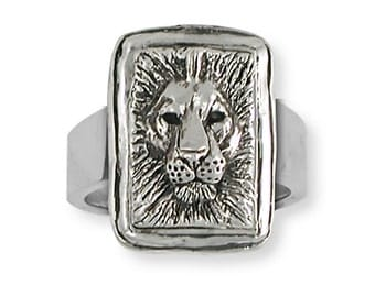 925-sterling Handmade Lion Ring Jewelry   LION1-R