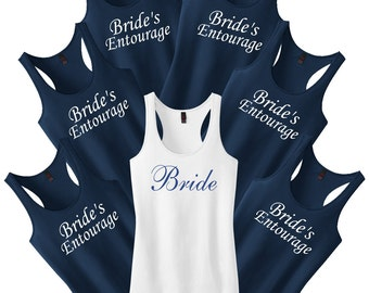 Bridesmaid Shirts.Bachelorette Party Set.Bridesmaid Tank Tops.Bridesmaid Gift.Wedding Shirts.Maid Of Honor Shirt.Bride Shirt.Bride Tank Top