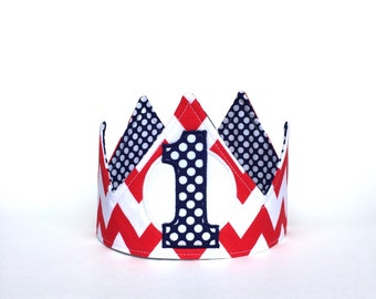 First Birthday Crown - First Birthday Hat