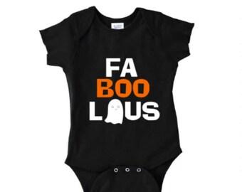 First Halloween Shirt, Halloween Onepiece, My 1st Halloween shirt, FaBooLous, Halloween Outfit, infant